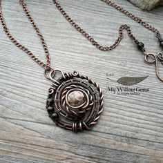 Hey, I found this really awesome Etsy listing at https://www.etsy.com/listing/223280106/dark-oracle-copper-wire-wrapped-jewelry