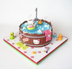 Hello Kitty Cake    Pirikos na Cozinha