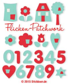 Flicken Patchwork Alphabet, Machine Embroidery, Archive, Blog, Kids Rugs, Decor, Scrappy Quilts, Appliques, Diamond Shapes