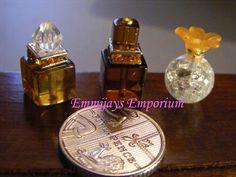 Whiskey Decanter, Whiskey Drinks, Miniature Bottles, Miniature Food, Vanity Fair, Minis, Perfume Bottles, Miniatures, Cosmetics