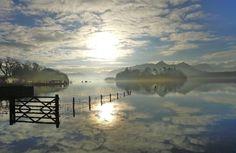 Derwent Water.Keswick 18 December 2:50 pm