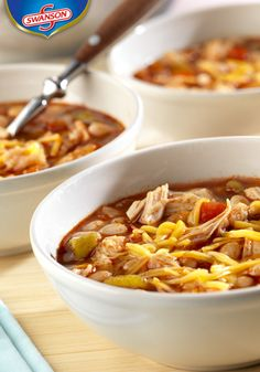 This Easy Chicken Chili with White Beans tastes like it's been simmering away all day but it actually takes less than 30 minutes before being plated for the table. Try this for dinner and your guests will be pleased.