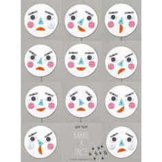 Make a face! DIY toy with changing faces – Learning about Emotions Make a face! DIY toy with changing faces – Learning about Emotions The post Make a face! DIY toy with changing faces – Learning about Emotions appeared first on Best Of Daily Sharing. Mr Printables, Diy For Kids, Crafts For Kids, Emotion Faces, Feelings And Emotions, Teaching Emotions, Emotions Activities, Child Life, Diy Toys