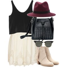 """Inspired outfit for lunch with friends"" by whathayleywore on Polyvore featuring the Indie Brim #SALSIT #polyvore #polyvoreset #styleset #style #fashion #ootd"