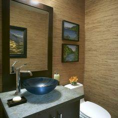 seagrass wallpaper idea