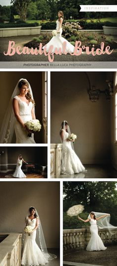 View more from this Memphis bridal portrait session by Bella Luca Photography! | The Pink Bride® www.thepinkbride.com