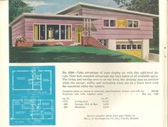 No. 8208 - 1950 Garlinghouse Ranch and Suburban Homes