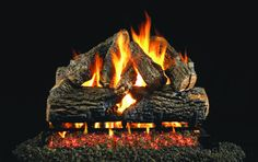 Gas fireplace logs are becoming quite popular. Their convenience and cleanliness have convinced many wood-burners to retire the chainsaw and log splitter. #gasfireplacelogs #fireplace #gasfireplace #homeideas Gas Fireplace Logs, Fireplace Ideas, Gas Fireplaces, Gas Fireplace Inserts, Gas Fire Logs, Ventless Gas Logs, Natural Gas Fireplace, Fireplace Stone, Oak Logs