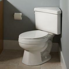 American Standard Triangle Toilet ~ again, smaller powder room