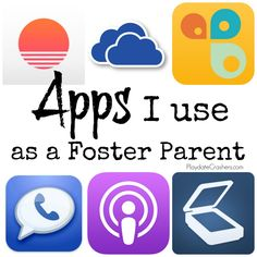 Apps I use as a foster parent