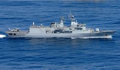 Royal New Zealand Navy ANZAC Class Frigate HMNZS Te Kaha.