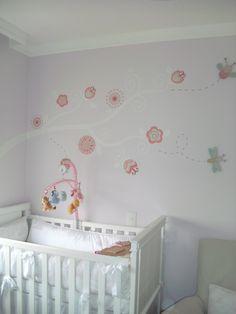 galho patchwork fundo lilás