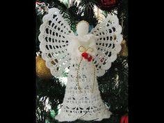 Angel en Crochet : Falda.  Parte 1 de 2 - YouTube