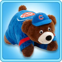 Chicago Cubs PILLOW PET!! OH MY GOSH!!