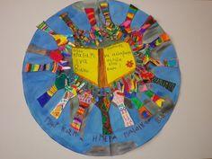 School Classroom, Classroom Decor, Greek Language, Bookmarks, Childrens Books, Education, Learning, Crafts, Bulletin Boards