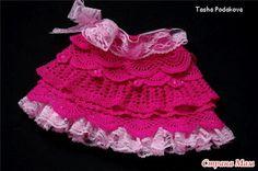 Tricotando com a Carla: Saia de croche com EuroFios