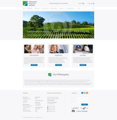Custom WordPress Theme - Client: Pleasanton Financial Advisors