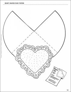 Accessorize your Valentine's Day activities with a heart-shaped page topper, heart-shaped glasses, and a heart-shaped skills review manipulative!