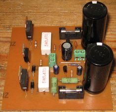 Amplificador simples com 100W de potência com transistor 100w_tip142_tip147_2 em #Amplificador #audio #Circuitos por edsontaubate