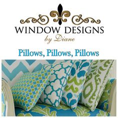Window Design, Custom Pillows, Home Decor, Personalized Pillows, Interior Design, Home Interior Design, Home Decoration, Decoration Home, Interior Decorating