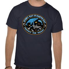 Protect Our Oceans T-shirts -- #environment #protectocean