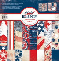 Bo Bunny Press - Liberty Collection - 12 x 12 Collection Pack at Scrapbook.com $18.99