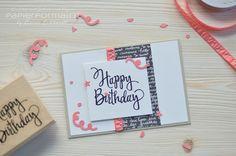 Papierforma(r)t: Stylized Birthday Card