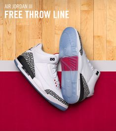 new arrival a9d69 626d8 Air Jordan 3 White Cement Free Throw Line.history in my hands