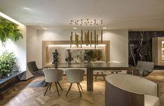Resultado de imagem para sala de estar 2017 Home And Living, Decor, Interior Design, House, Table, Home, Interior, Home Decor, Room