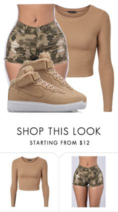 """Untitled #2515"" by kayla77johnson ❤ liked on Polyvore featuring NIKE"