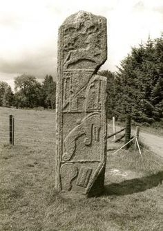 Scotland was founded by an Egyptian Princess named Scota. This explains A LOT about Scotish art.