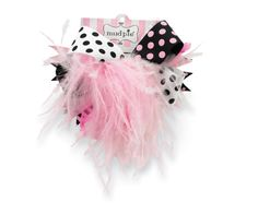 Mud Pie Baby-girls Newborn Ostrich Party Bow, Black/Pink, One Size Baby Girls, Baby Girl Newborn, Mud Pie Baby, Baby Girl Hair Accessories, Amazon Clothes, Easter Outfit, Girls Wardrobe, Baby Headbands, Baby Love