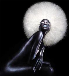Afro Moon… Bea-ut-iful <3