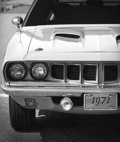 1971 Plymouth Cuda 340 - by Gordon Dean II