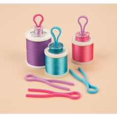 Cute! And a great idea for organization! Bobbin Buddies 40 PC Set - Sewing & Craft Club