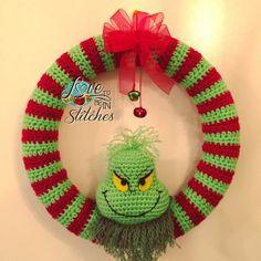 Grinch wreath free pattern