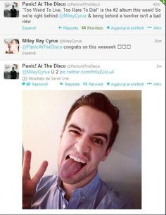 Brendon Urie is the best. This is clearly why.