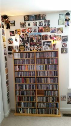 My CD collection A through E.