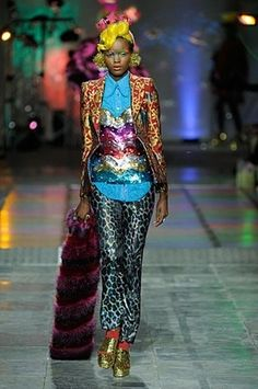 Insane colours and textures from meadham and kirchhoff aw12