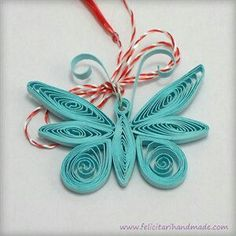 Quilling Butterfly, Quilling Paper Craft, Paper Crafts, Butterflies, Easter Bunny Colouring, Quilling Designs, Quilling Ideas, Button Crafts, Projects To Try