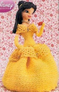 Free amigurumi crochet patterns (in Spanish) with charts