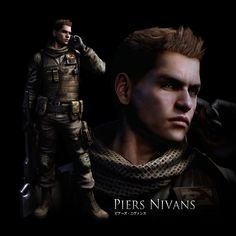 resident evil 6 game  | Similar to Chris Redfield, he is a member of the North American BSSA ... I know hes not real but hes hot