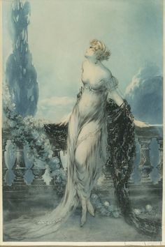 Louis Icart 'Werther' 1928