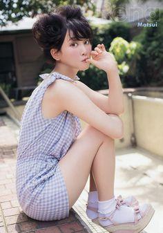 Matsui Rena (松井玲奈) - #SKE48 #Team E / #NGZK46 - #Nogizaka46 #senbatsu #japan #idol #jpop #gravure #bikini #grick #young animal