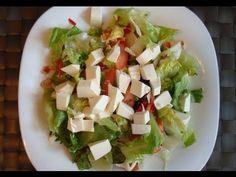 Ensalada con atún y queso - http://cocinaenvideo.com/