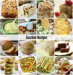 Zucchini Recipes-Dinner Ideas-Healthy Recipe Ideas-Bread-Salad-Sauce-Quinoa | theidearoom.net