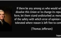 Quotes About Change Thomas Jefferson