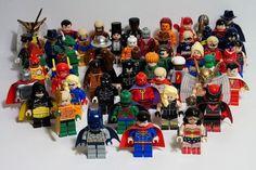 DC Universe LEGO Minifigures