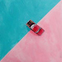 """""""1980 Matchbox Dodge 10 Car"""" by julie hollis. Paintings for Sale. Bluethumb - Online Art Gallery Quirky Art, Weird Art, Buy Art Online, Australian Artists, Acrylic Painting Canvas, Artist Art, Paintings For Sale, Online Art Gallery, Great Artists"""