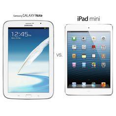 The Tale of Two Tablets: Samsung Galaxy Note 8 vs. iPad Mini